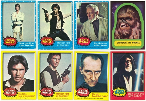 "1977-1980 Topps ""Star Wars"" and ""Star Wars - The Empire Strikes Back"" Collection (200+)"