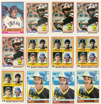 1970s-1980s Topps and Assorted Brands Collection (140+)
