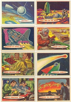 "1958 Topps ""Space Cards/Target: Moon"" Complete Set (88)"