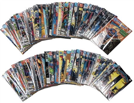 500 Count Lot of DC Comic Books Various Titles (500)