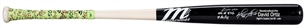 2016 David Ortiz Game Used And Signed Marucci LDM Model Bat Used To Hit Home Run #536 On 9/12/16 To Tie Mickey Mantle (MLB Auth / Ortiz LOA)