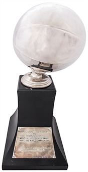 1984-85 NBA & Sport Magazines Most Valuable Player Trophy Presented To Kareem Abdul-Jabbar (Abdul-Jabbar LOA)