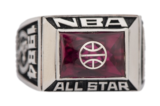 1984 Kareem Abdul-Jabbar NBA All Star Game Ring (Abdul-Jabbar LOA)