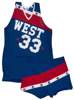 1979 Kareem Abdul-Jabbar Game Used & Signed All-Star Game Western Conference Uniform - Jersey & Shorts (Abdul-Jabbar LOA)