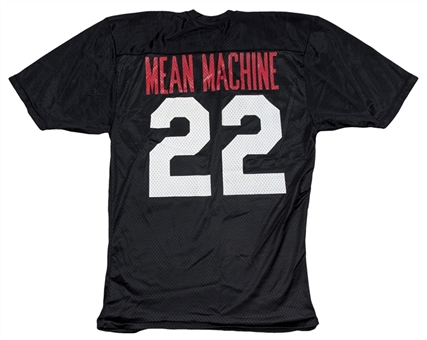 "Burt Reynolds Screen Worn & Photo Matched Mean Machine Jersey From ""The Longest Yard"" Movie (Letter of Provenance & Resolution Photomatching)"