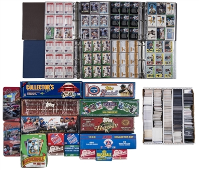 1980s-2010s Topps and Assorted Brands Collection (52,500+) - An Avalanche of Trading Cards!