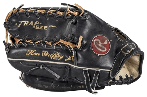 1993 Ken Griffey Jr. Game Issued Rawlings Pro-TB Outfielders Glove (PSA/DNA)