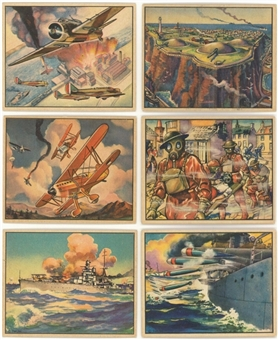 "1939 R173 Gum, Inc. ""World in Arms"" Complete Set (48)"