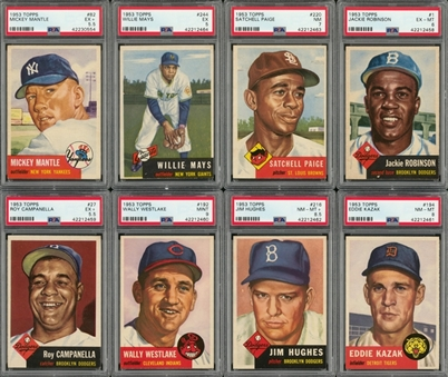 1953 Topps Complete Set (274)
