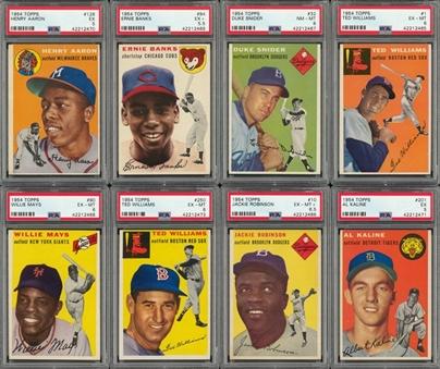 1954 Topps Complete Set (250)