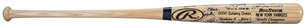 2000 New York Yankees Team Signed Rawlings World Series Championship Commemorative Bat With 29 Signatures - LE 151/200 (Steiner)
