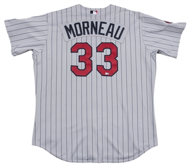 2007 Justin Morneau Game Used Minnesota Twins Road Jersey (MLB Authenticated)