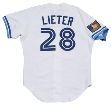 1994 Al Leiter Game Used Toronto Blue Jays Home Jersey (Blue Jays COA & MEARS)