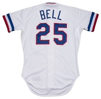 1983 Buddy Bell Game Used Texas Rangers Home Jersey (MEARS A10)