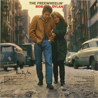 "Bob Dylan Signed 2010 ""The Freewheelin Bob Dylan"" Album Re-Issue (Epperson COA)"
