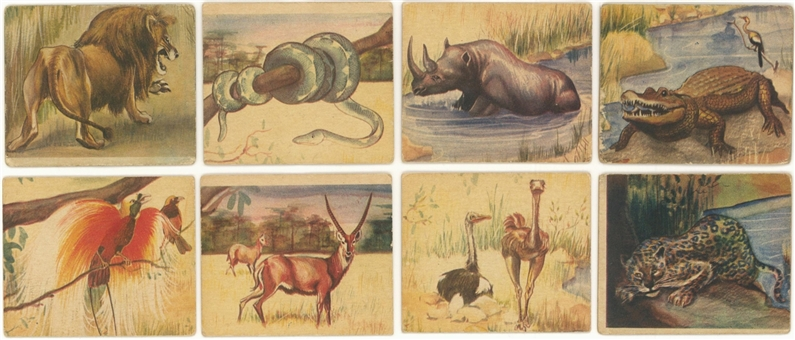 "1935 R6 National Licorice ""African Animal Jig"" Complete Set (24)"