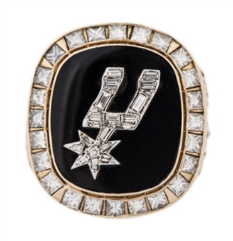 1998-99 San Antonio Spurs NBA Championship Players Ring Presented To Mario Elie (Elie LOA)