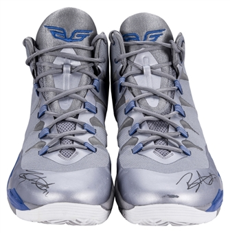 2013 Blake Griffin Game Used & Signed LA Clippers Jordan Sneakers (Player LOA & JSA)