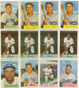 1954 Bowman Collection (625+) Including Many Hall of Famers