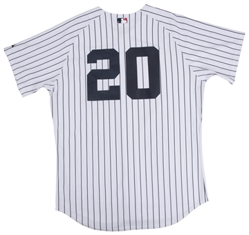 1978 World Champions New York Yankees Team Signed Home Pinstripe Jersey With 20 Signatures (Steiner)