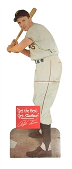 1950s Ralph Kiner Sealtest Life Size Advertising Display