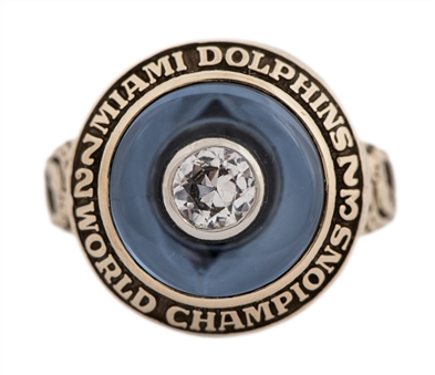 1973 Miami Dolphins Super Bowl VIII Championship Ring - Ladies Salesman Sample