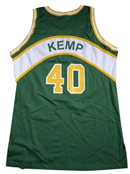 1993-94 Shawn Kemp Game Used Seattle SuperSonics Road Jersey (Sports Investors Authentication)