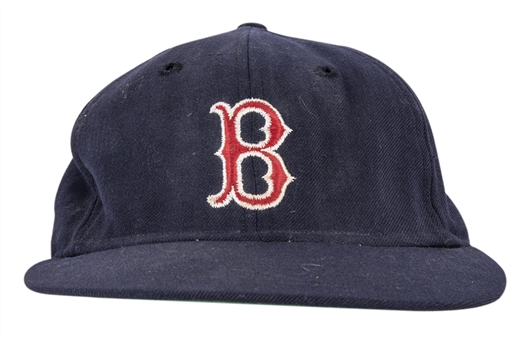Circa 1970 Tom Yawkey Game Used Boston Red Sox Cap (JT Sports)