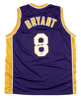 Kobe Bryant Signed Los Angeles Lakers Road Jersey (PSA/DNA)