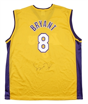 Kobe Bryant Signed Los Angeles Lakers Replica Jersey (JSA)