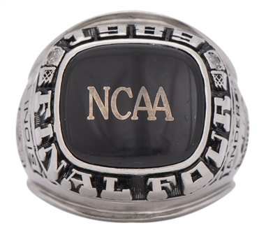 1989 Nick Anderson University of Illinois NCAA Final Four Ring with the Original Box